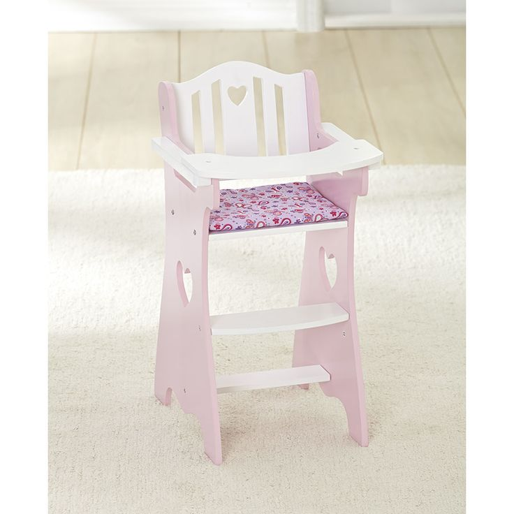 You & Me Wooden Doll High Chair | Toys R Us Australia