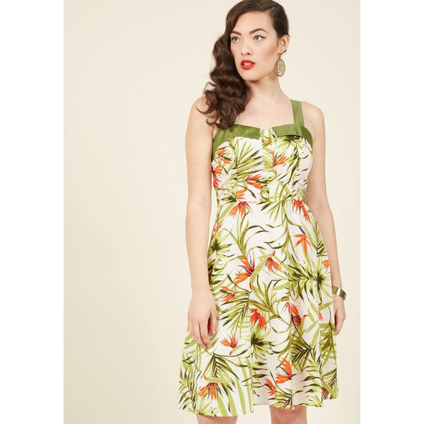 Make Mine Retro A-Line Dress - Plus Sizes Available ($70) ❤ liked on Polyvore featuring dresses, apparel, fashion dress, varies, plus size holiday dresses, white cocktail dress, womens plus size cocktail dresses, plus size white dress and plus size dresses