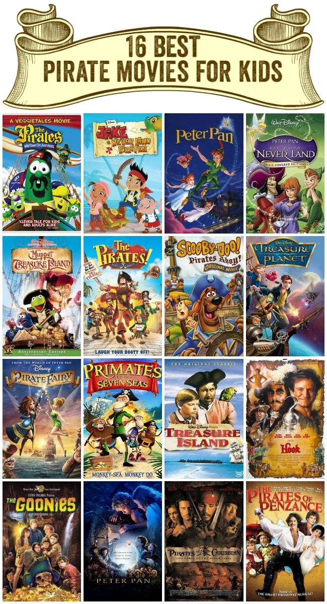 The Top 16 Best Pirate Movies for Kids - Rockin Boys Club - Talk Like a Pirate Day