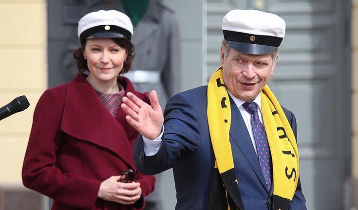 Onko Sauli Niinistö Jenni Haukion kummi? – Presidentin kanslia vastaa some-huhuun