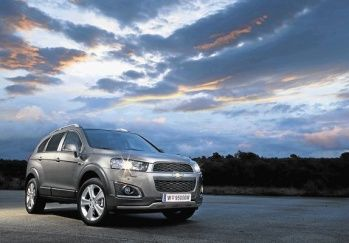 General Motors SA has announced a styling package with enhanced features package to refresh the popular Chevrolet Captiva SUV for the 2013 model year.
