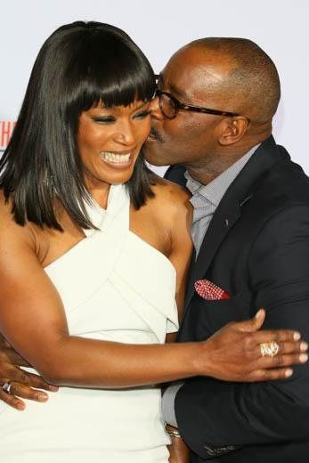 Courtney B. Vance and Angela Bassett - 23 Famous Black Couples Happily Married…