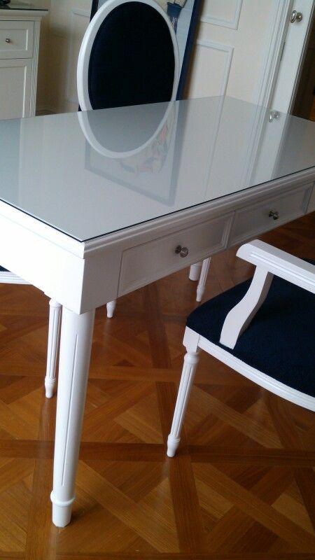 Escritorio luis xvi muebles estilo frances luis xv for Muebles estilo frances