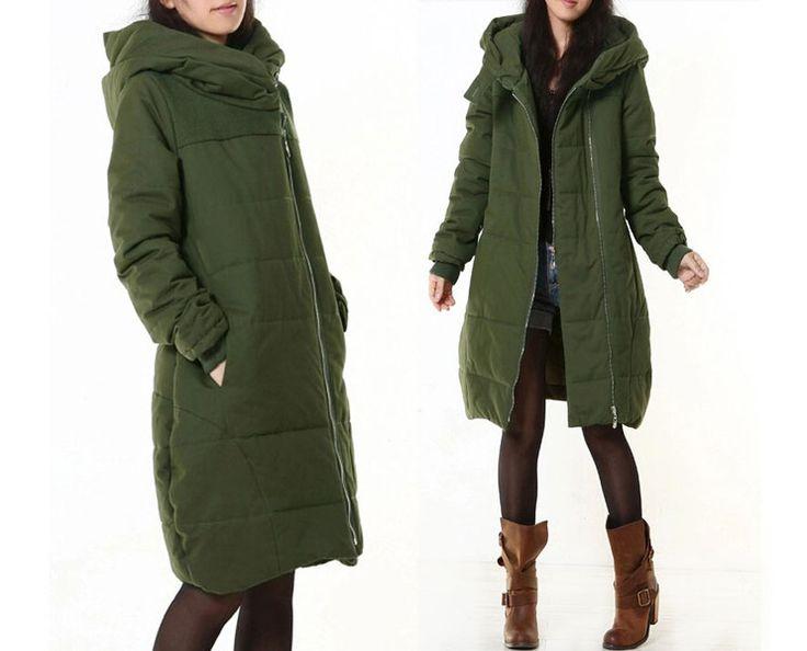 Women Winter Thick Long Overcoat-11 from MissJuan by DaWanda.com