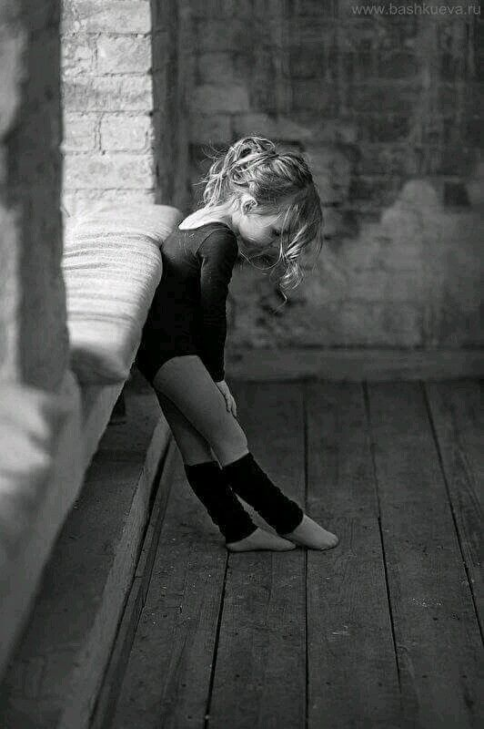 Black and White Photography - Little Dancer