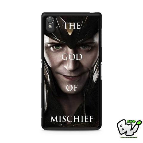 Loki The God Of Mischief Sony Experia Z3,Z4,Z5,C3,C4,E4,M4,T3 Case,Sony Z3,Z4,Z5 MINI Compact Case