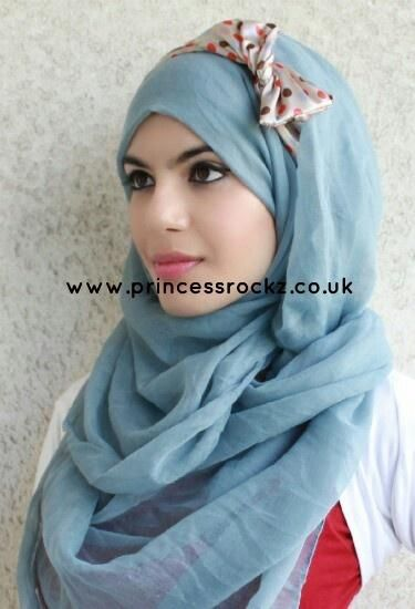 Hijab with headband idea