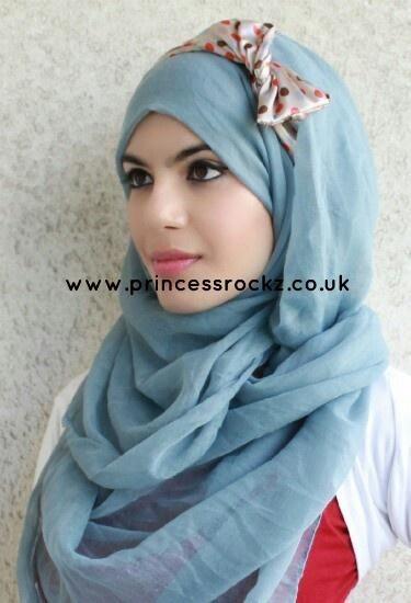 Hijab with headband idea