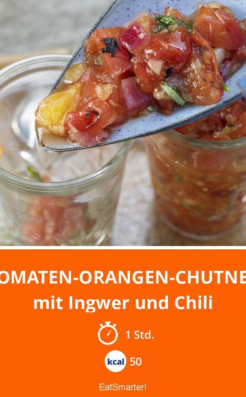 Tomaten-Orangen-Chutney - mit Ingwer und Chili - smarter - Kalorien: 50 kcal - Zeit: 1 Std. | eatsmarter.de