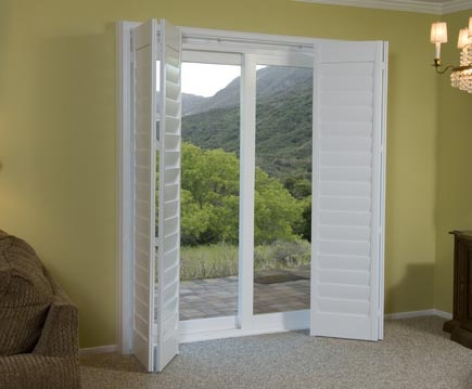 Best 25 plantation shutters cost ideas on pinterest for 70 sliding patio door