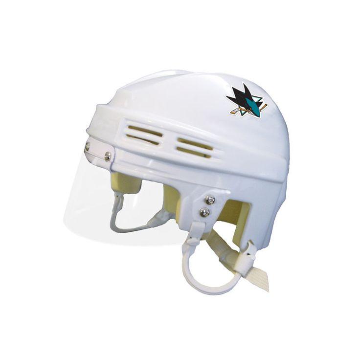 San Jose Sharks Mini Helmet - White