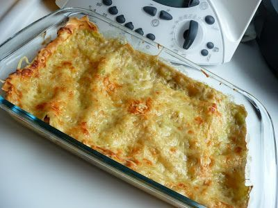 Lasagnes thon-courgettes au thermomix - Recette Ptitchef