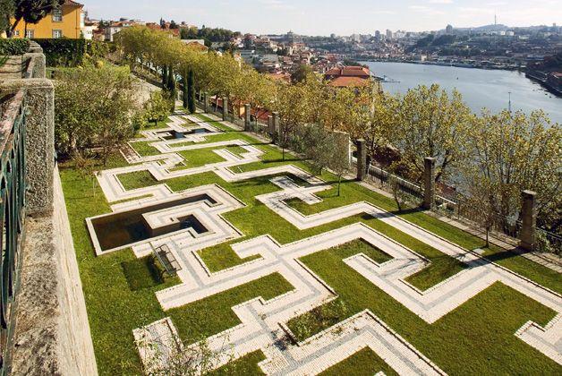 Jardim Palácio Cristal, Porto, Portugal