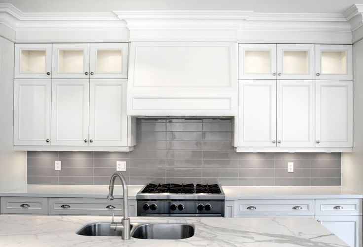 Soho Taupe Kitchen Backsplash Resized Kitchen
