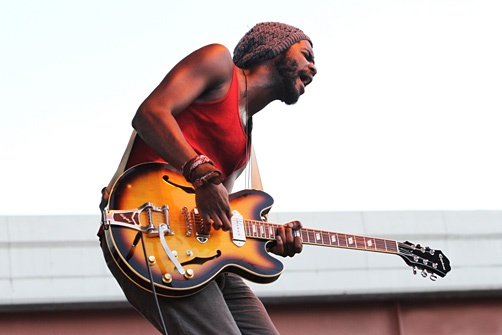 """All comparisons to Jimi Hendrix aside, Gary Clark Jr. has carved quite the niche in music thanks to his bluesy rock guitar riffing.  Clark has been a staple in the Austin music scene for years. His """"Bright Lights"""" EP furthered his progression to stardom, and with cosigns from legends, Clark is well on his way"""
