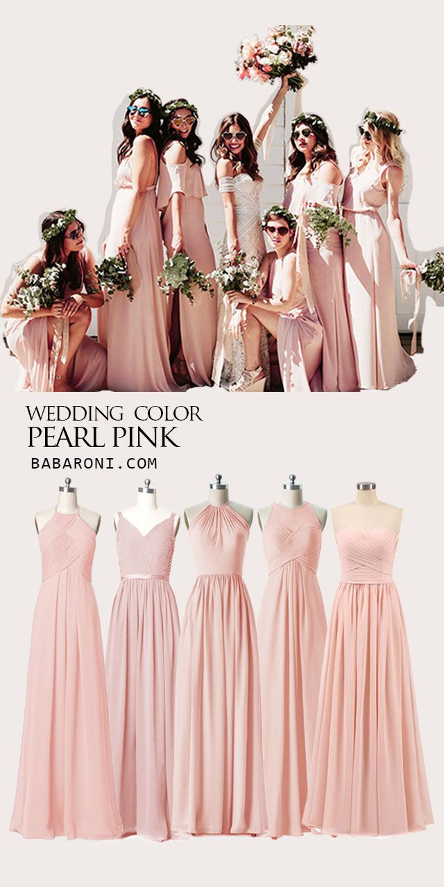 Bridesmaid Dresses Blush Pink Bridesmaid Dresses Mismatched Blush Bridesmaid Dresses Peach Color Bridesmaid Dresses
