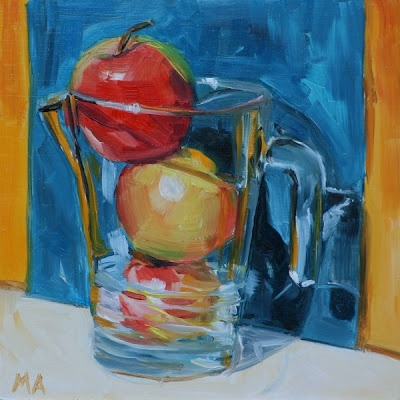 Applejuice I love still life