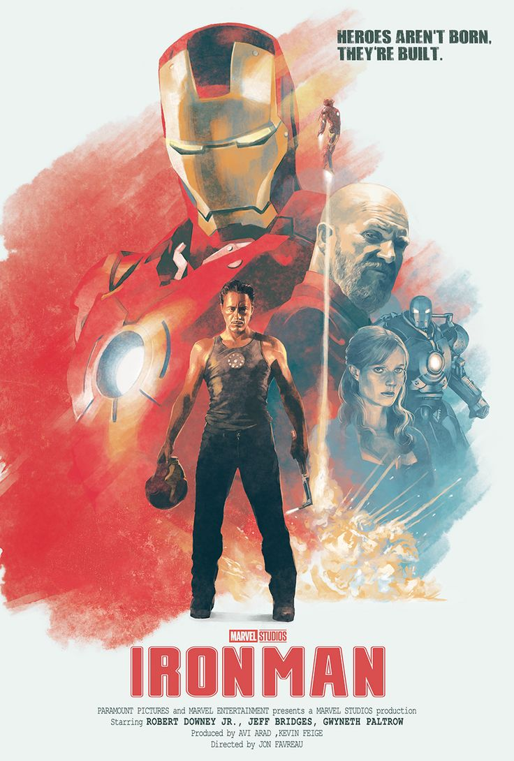 Iron Man Alternative Poster - Created by Hans Woody
