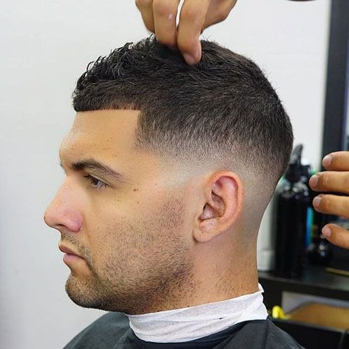 how to fade a buzz cut