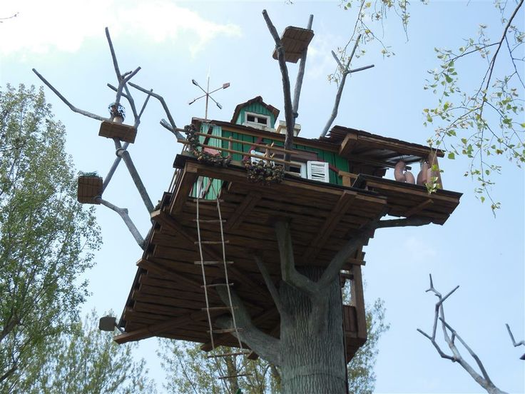 tripsdrill erlebnispark bernachten im baumhaus hammer. Black Bedroom Furniture Sets. Home Design Ideas