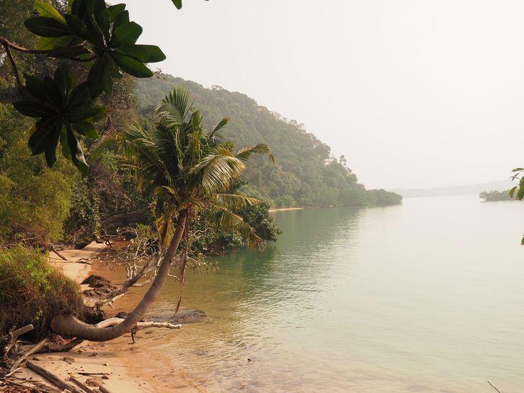 Tanjung Tuan national park, near Kuala Lumpur, Malaysia. Went swimming + saw monkeys = amazing