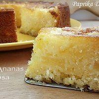 Torta all'Ananas Succosa
