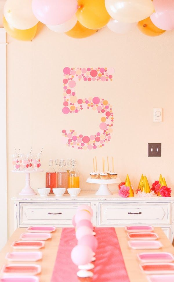 Fiestas infantiles con diseño: Fiesta Cumpleaños: A todo rosa!!!