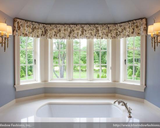 Valance Curtains Living Room Interior Design
