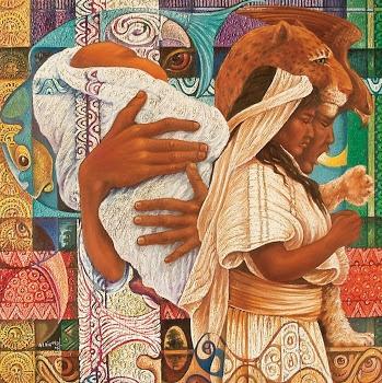Arte Indigena  #Pintor Alfredo Vivero