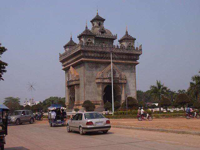 Architecture in Vientiane #Laos