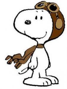 Pilot Snoopy