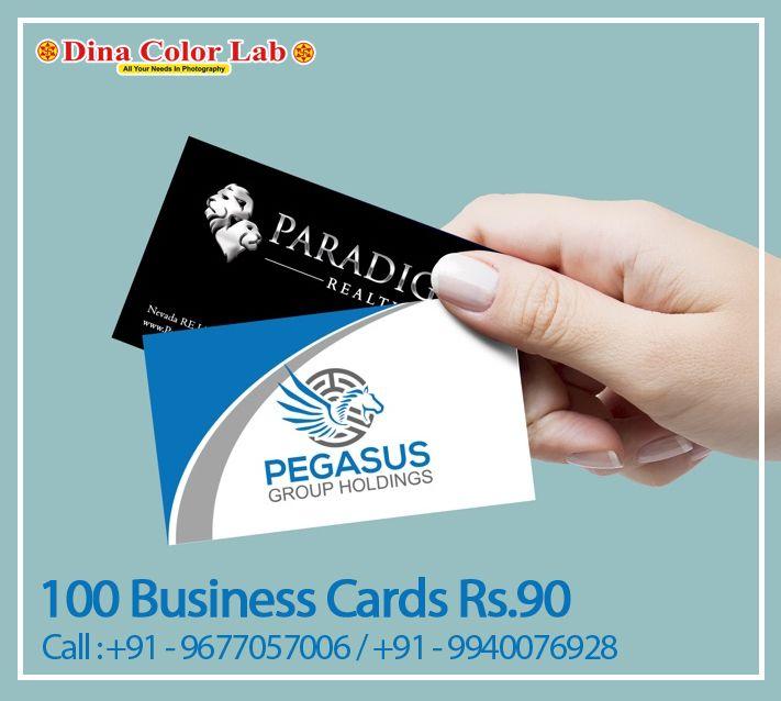 100 Business Cards At 90 Free Shipping Visiting Card Printing Printing Business Cards Card Printer