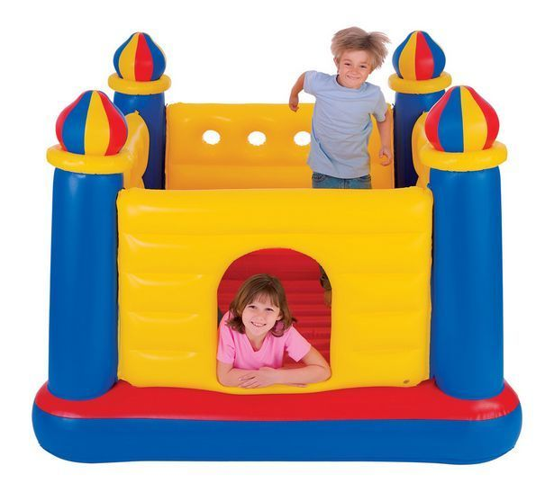 Bouncy Castle Inflatable Bouncers Houses Jumpers Kids Soft  Jump Bouncy Castles