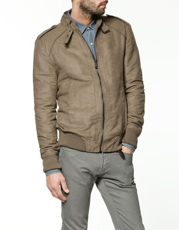 suede jacket with elbow patches