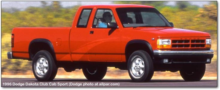 1996 dodge dakota. Last year of the good looking Dodge trucks