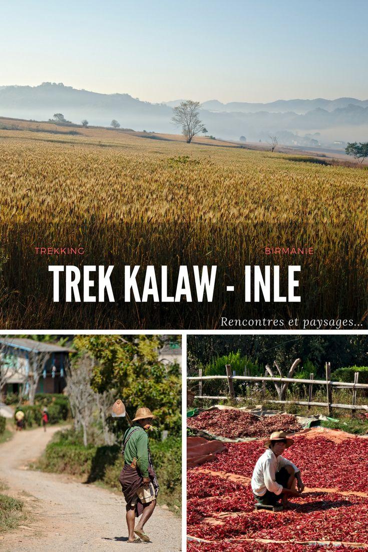 Birmanie - trekking entre le village de Kalaw et la lc Inlé. Un magnifique itinéraire que nous avons eu la chance de faire directement avec un guide local sans passer par une agence. Dans l'article on vous donne toutes les infos sur comment contacter directement le guide et organiser avec lui le trek de votre choix dans la région du lac Inle.
