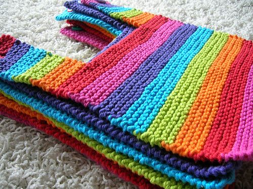 Free Knitting Patterns For Baby Bibs : These baby bibs rock, need to learn to knit though Baby gift ideas Pinter...