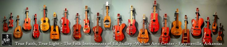 guitars made by ed stilley exhibit at the walton arts center fayetteville ar august 23. Black Bedroom Furniture Sets. Home Design Ideas