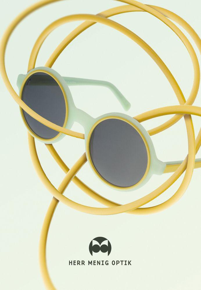 Ad illustration for Herr Menig Optik, an optician in Nürnberg Germany www.philippzm.com in Herr Menig Optik Illustrations