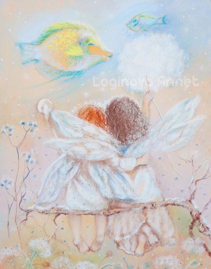 Butterflies around? We love ... We are so much alike, my dear friend :) https://www.etsy.com/ru/shop/AnnetPainting?ref=search_shop_redirect http://www.livemaster.ru/l-annet  Art of Annet Loginova