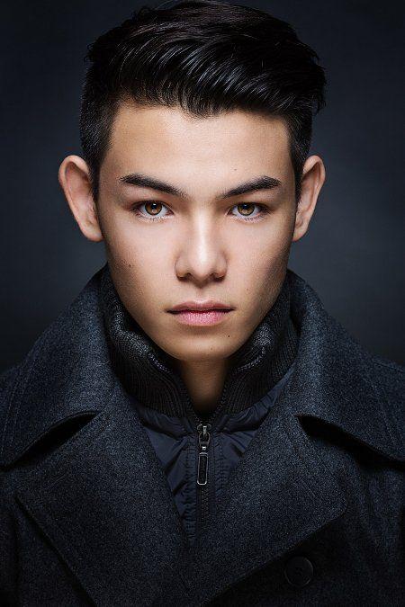 Ryan Potter   actor // hapa (half-Japanese, half-Caucasian)