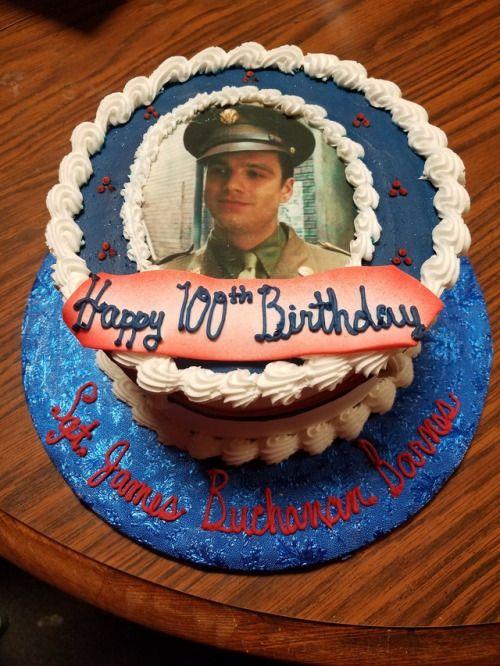 TODAY IS BUCKY BARNES' 100TH BIRTHDAY!!!!!!!