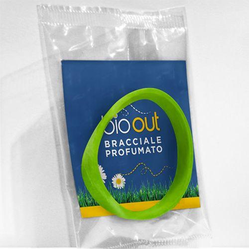 Pulsera con aceites esenciales repelente de insectos. cosmética natural