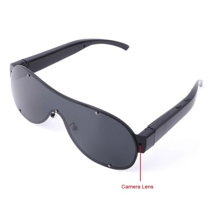 $58, 8GB 1920x1080P Full HD Spy Camera Sunglasses Mini DV Camcorder with Audio Recording Function - Spy Cameras