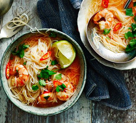 Real fast food: a delicious and warming seafood one-pot, that takes just 15 minutes to make