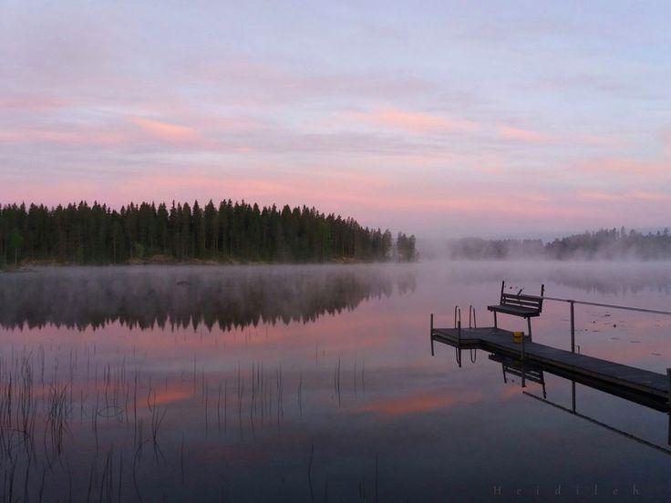 Midsummer in Finland.