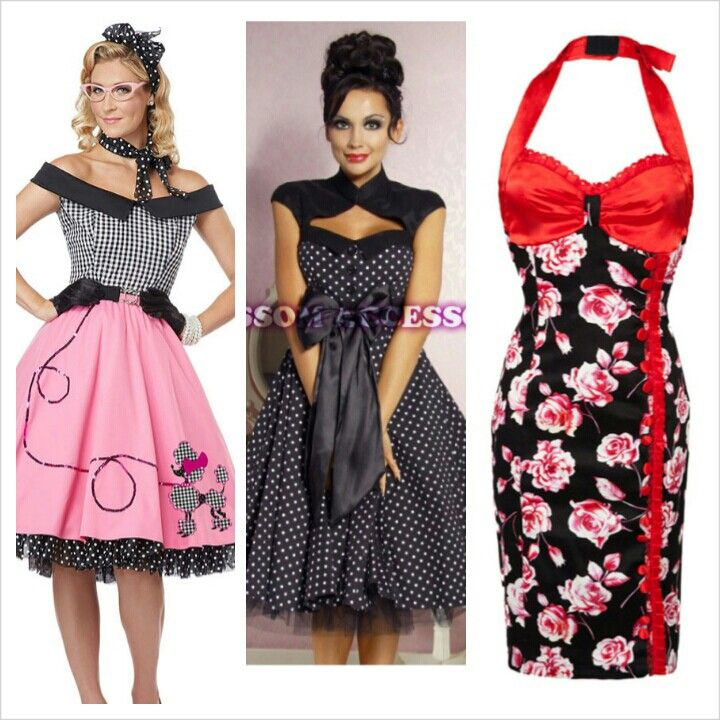 1950s Hens Party Dress Options