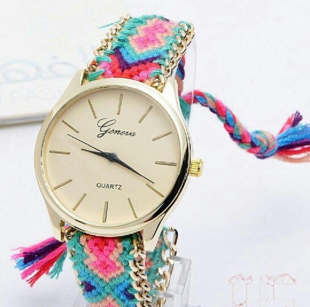 Rainbow Watch, Bracelet Watch, Vint