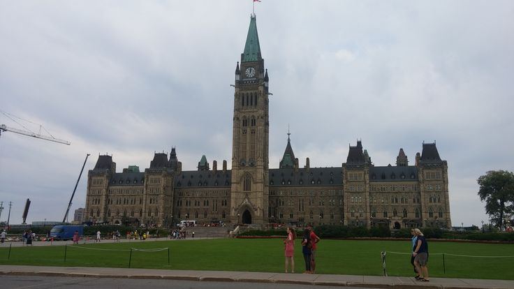 Parliament building in Ottawa. Most area's were off limits due to construction. Parking was crazy and we ended up using public transit while there.