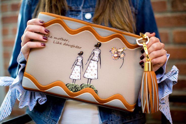 Silvia Tcherassi Mother's Day Edition clutch - fashion designer @voguemagazine